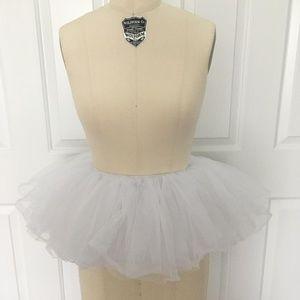 Costume LED Light Layered Tulle Tutu Mini Skirt